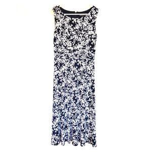 Navy/White dress